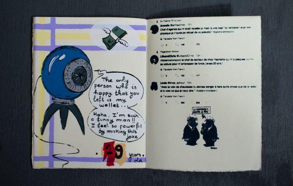 Zine, page 6&7